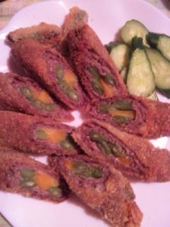 牛肉野菜巻き